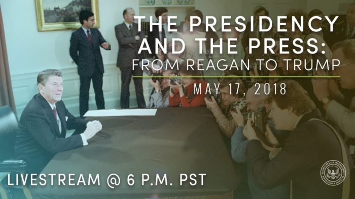 The Press And Presidency From Ronald Reagan To Donald Trump Whca